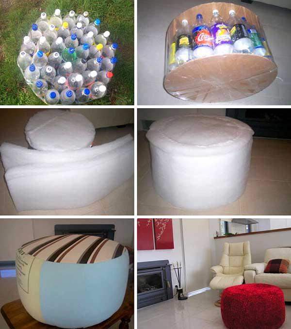 creare con materiale riciclato