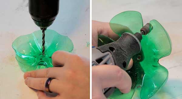 riciclo bottiglie di plastica