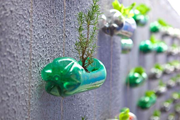 riciclo creativo bottiglie di plastica