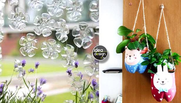 Riciclo bottiglie di plastica idee per un riciclo creativo - Riciclo fai da te ...