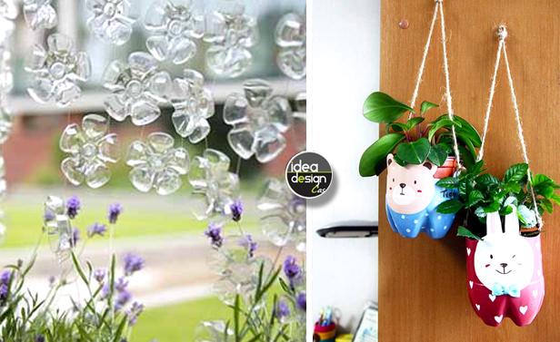 Riciclo bottiglie di plastica idee per un riciclo creativo - Idea design casa ...