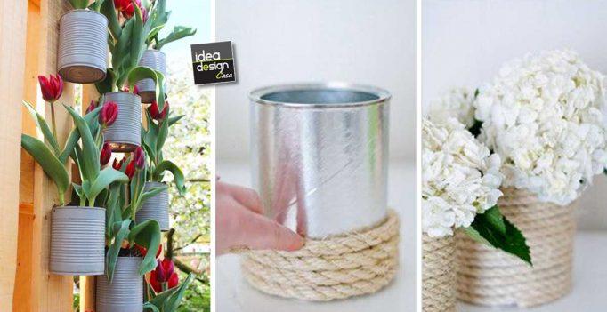 Lampada Barattolo Di Latta : Riciclare barattoli di latta: ecco 23 idee creative da cui trarre