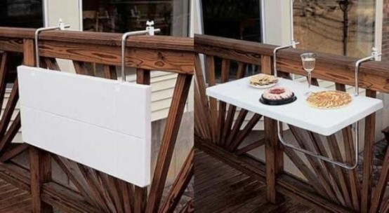 salvaspazio balcone idee
