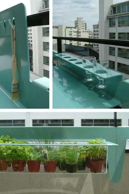 salvaspazio balcone