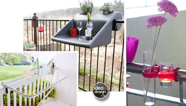 Idee salvaspazio balcone 21 accessori per il balcone - Accessori per arredare casa ...