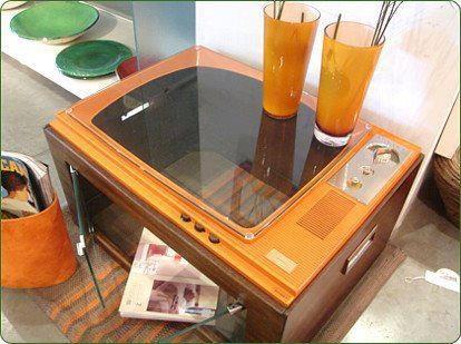 Riciclare vecchio televisore