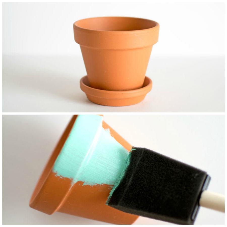 vaso terracotta fai da te