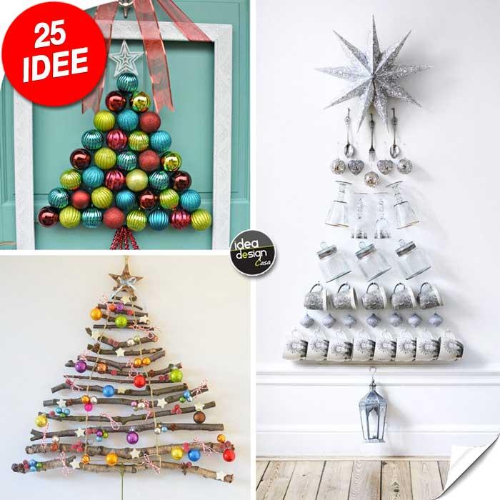 Alberi Di Natale Fai Da Te Originali.Albero Di Natale Originale 25 Idee Creative Da Scoprire
