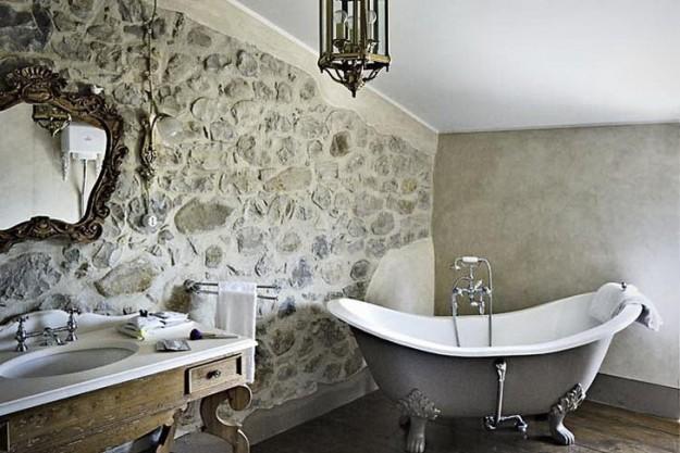 bagno rustico arredametno rustico : bagno stile rustico: 20 idee per un bellissimo bagno rustico