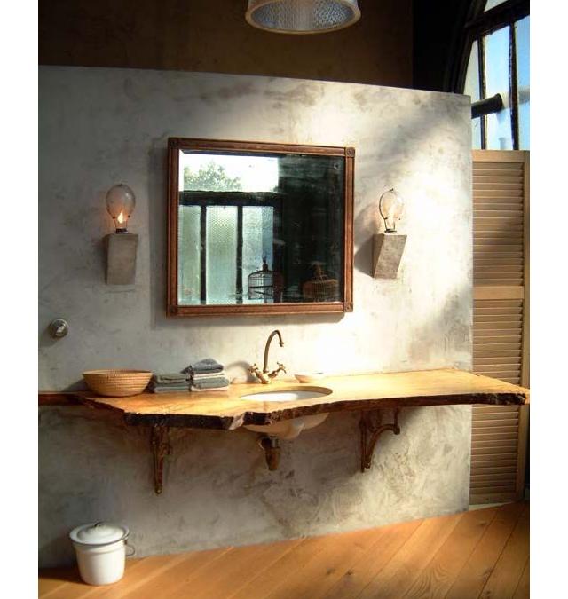 Bagno stile rustico 20 idee per un bellissimo bagno rustico for Piani di coperta e idee