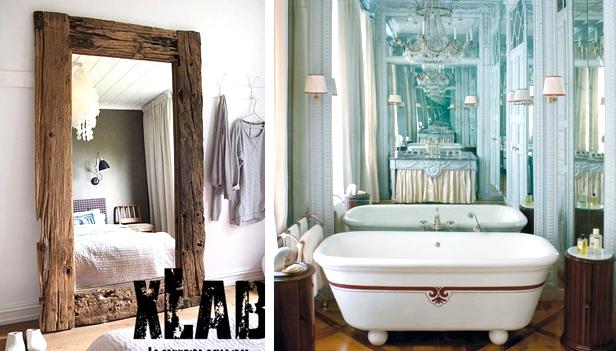 Ingrandire con gli specchi: 7 modi per ingrandire una stanza con ...