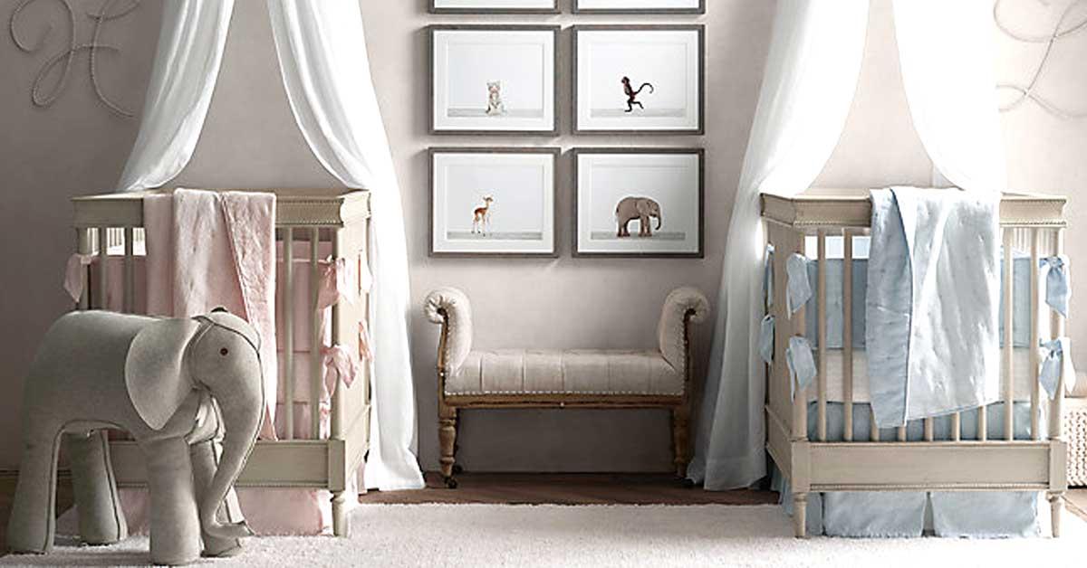 Idee Per Arredare Cameretta Neonato : Cameretta gemelli idee per decorare la camera dei gemelli