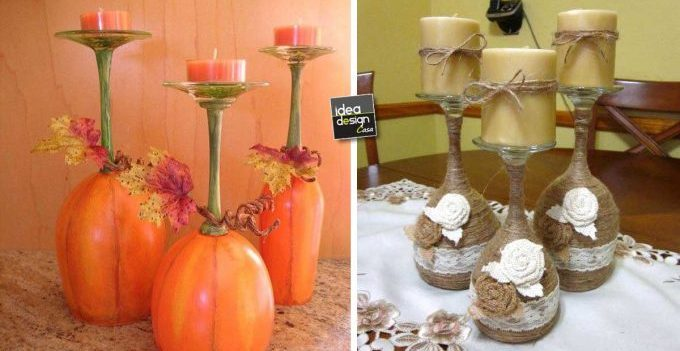 Bicchieri creativi 27 creazioni originali con i bicchieri di vetro - Decorare bicchieri di vetro ...