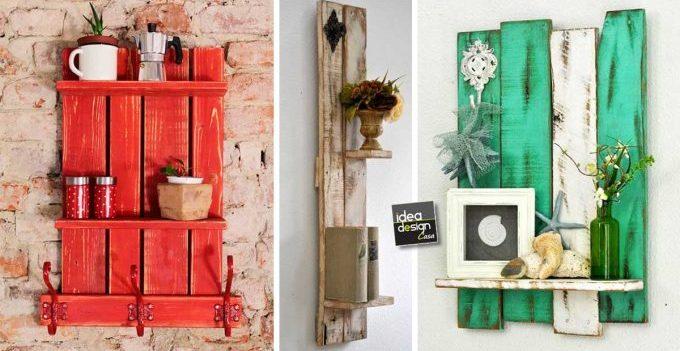 Credenza Con I Pallet : Decorazioni vintage fai da te con le cassette di legno! ecco 15 idee