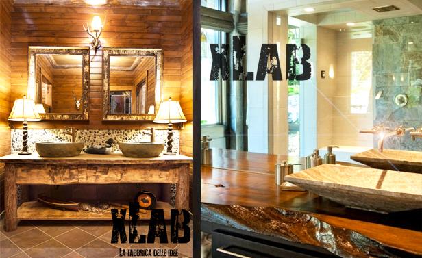 mobile in legno massello per il bagno ecco 10 modelli da sogno. Black Bedroom Furniture Sets. Home Design Ideas