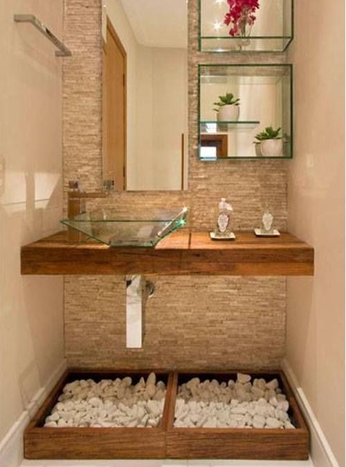 Mobile in legno massello per il bagno ecco 10 modelli da Diseno lavabos pequenos