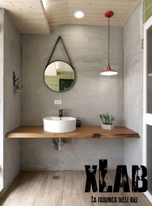Mobile in legno massello per il bagno ecco 10 modelli da - Lavabo in muratura per bagno ...