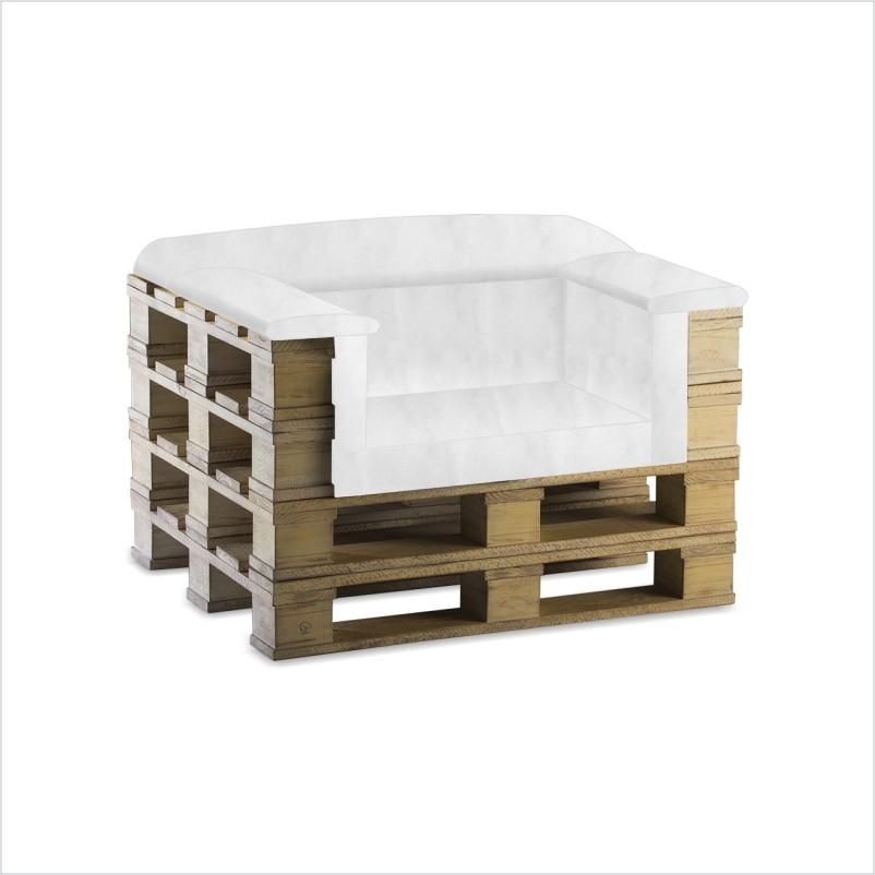 Voici 20 id es g niales pour fabriquer un fauteuil avec - Fabriquer un fauteuil en palette ...