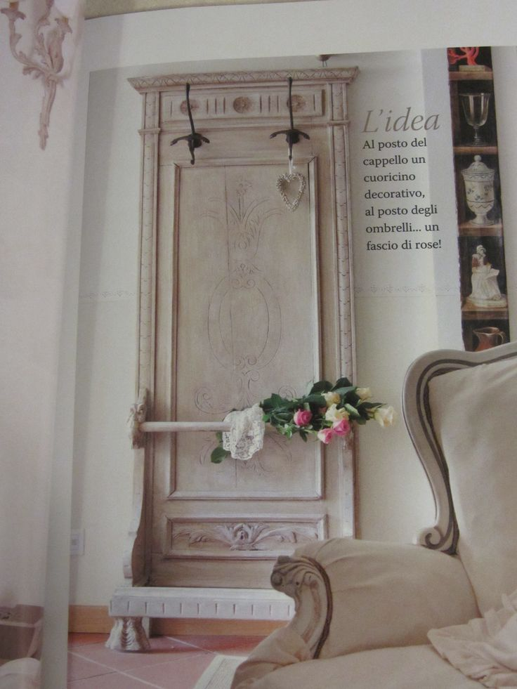 Riciclare vecchie porte in stile shabby chic e non solo!