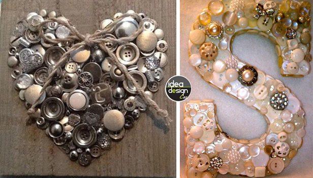 Riciclo creativo bottoni ecco 13 idee per riciclare i for Riciclo creativo per la casa
