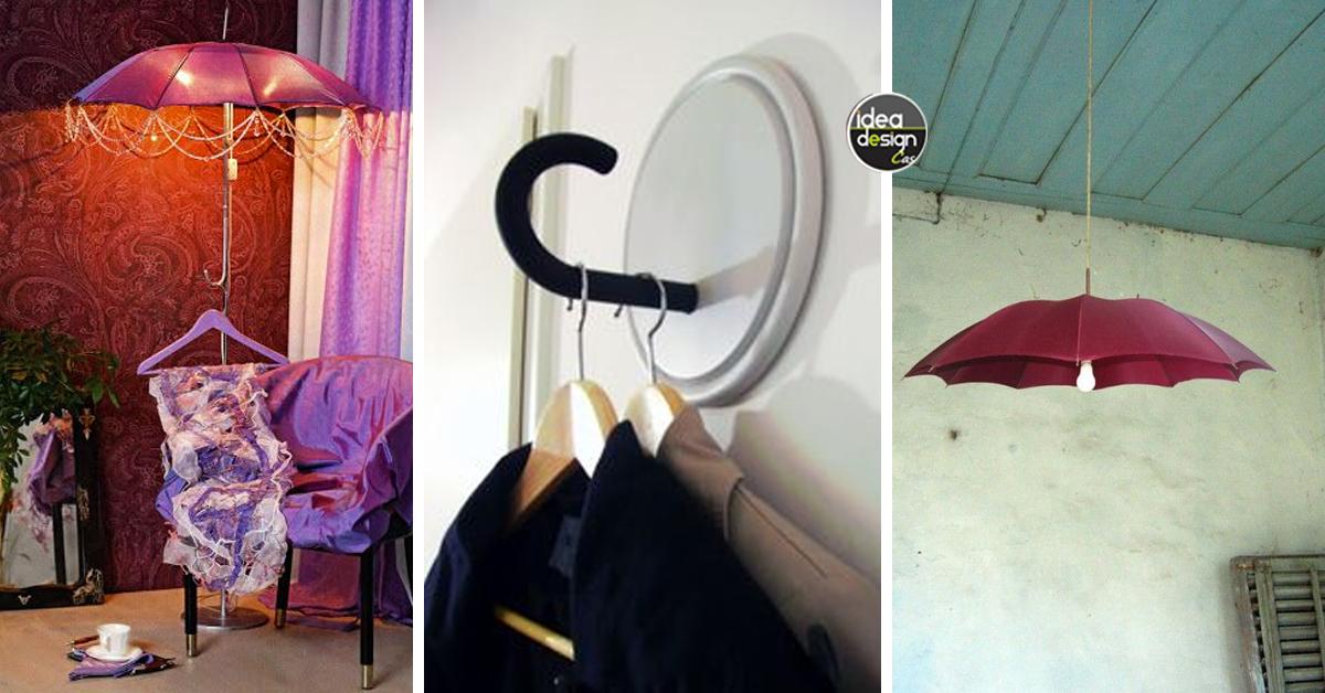 Riciclo creativo ombrelli 15 idee per un riciclo creativo for Riciclo creativo per la casa