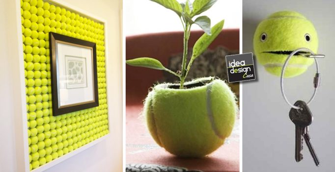 Riciclo creativo vecchie palline da tennis 17 idee simpatiche for Bricolage creativo