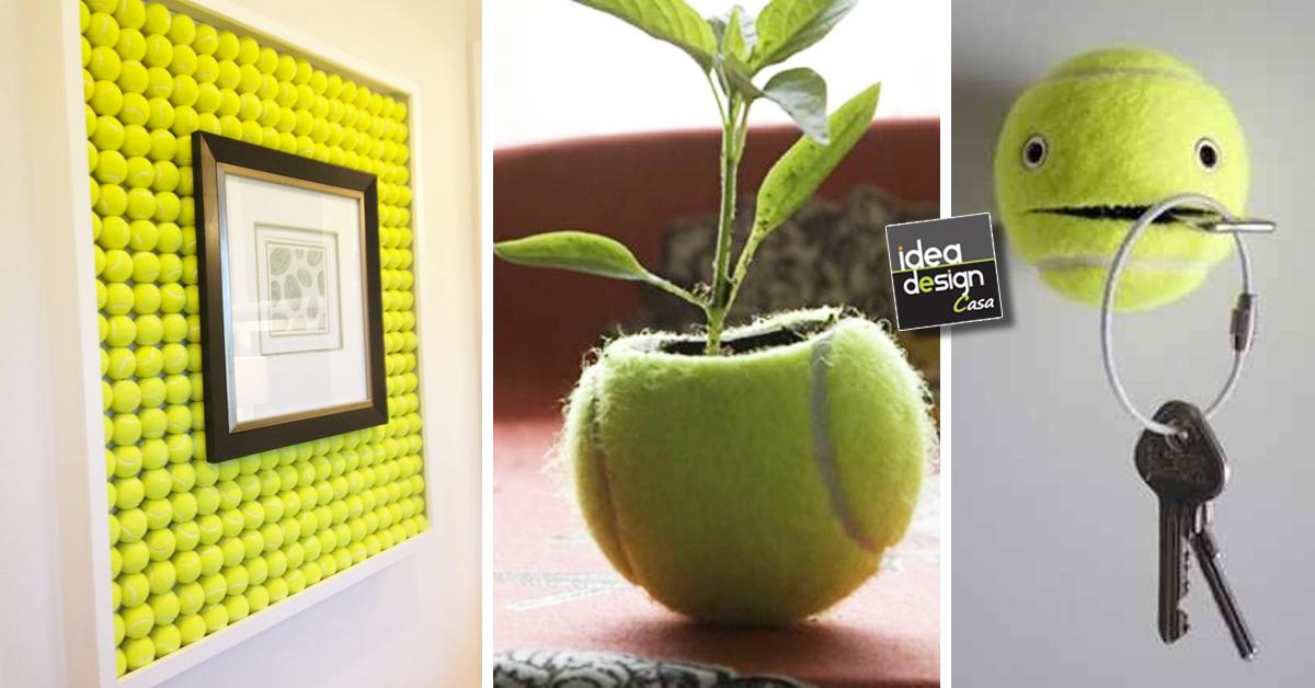 Riciclo creativo vecchie palline da tennis 17 idee simpatiche - Riciclo creativo casa ...