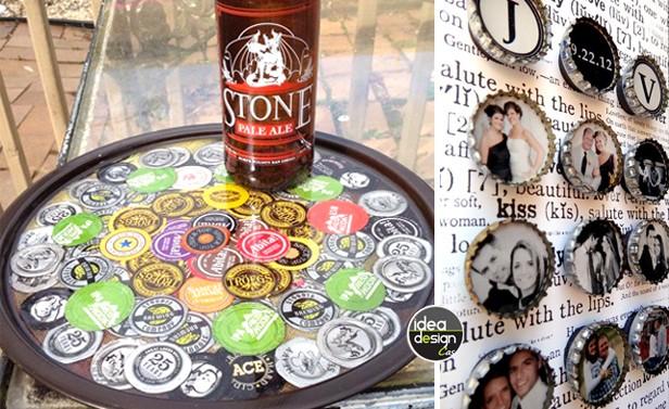 disabilità strutturali nuovo stile più recente riciclare tappi delle vostre birre, 31 idee...