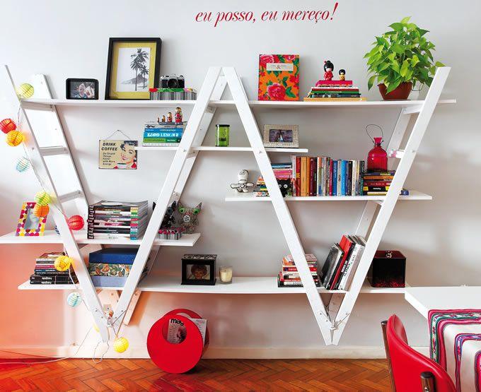Come riciclare una vecchia scala: 30 idee creative da scoprire!