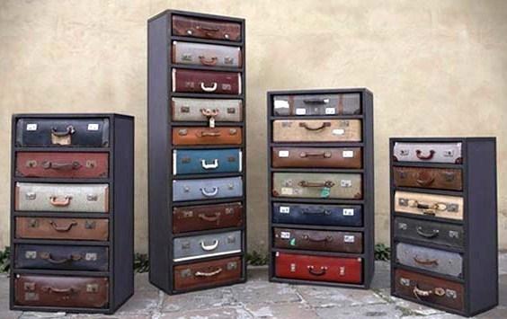 Riciclare vecchie valigie 23 idee per un riciclo creativo - Ou recuperer des palettes en bois gratuitement ...