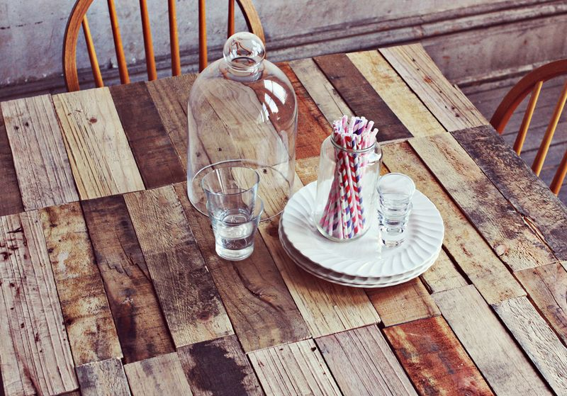 Petrified Wood Kitchen Table
