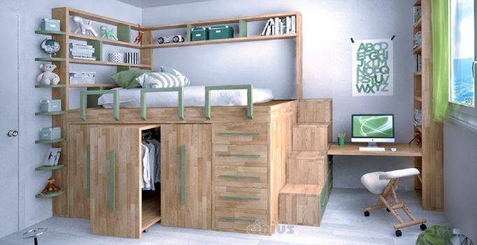 Letto salvaspazio 6 idee per ottimizzare lo spazio in camera tua - Soluzioni salvaspazio camera da letto ...