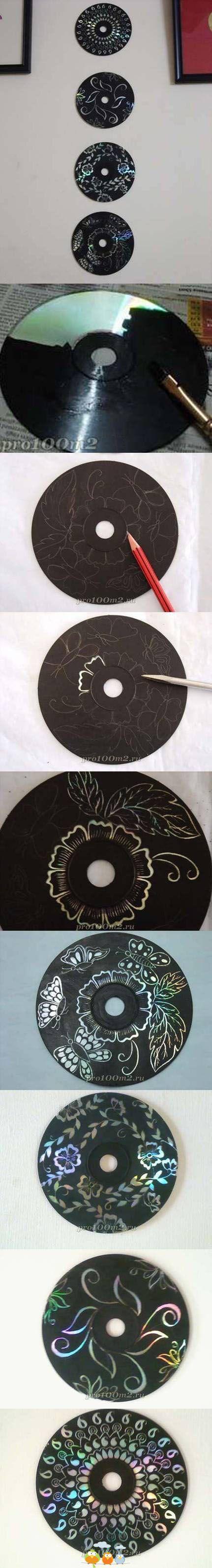 Riciclo cd rom 7