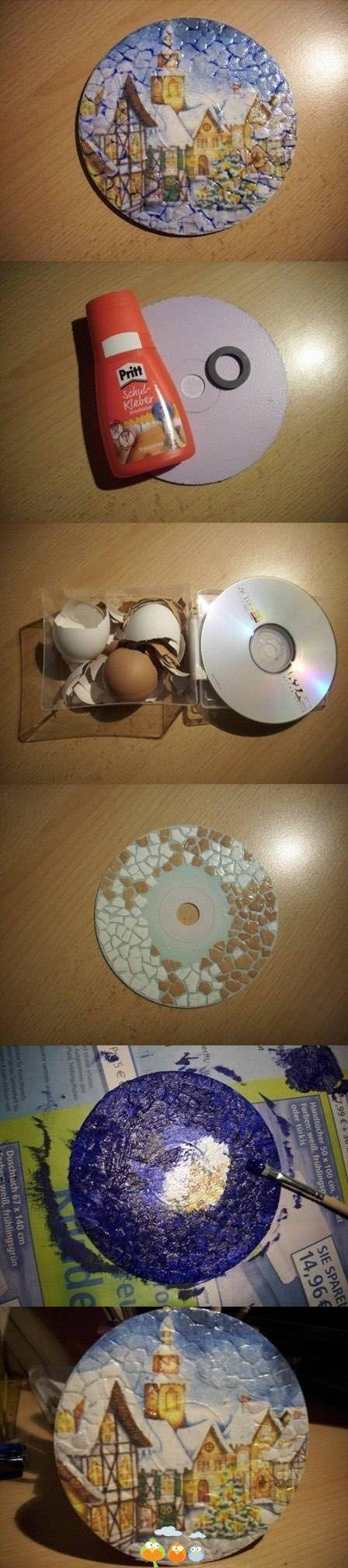 Riciclo cd rom 8
