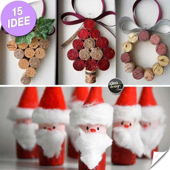 abbastanza Decorazioni natalizie con tappi di sughero!15 idee IP53