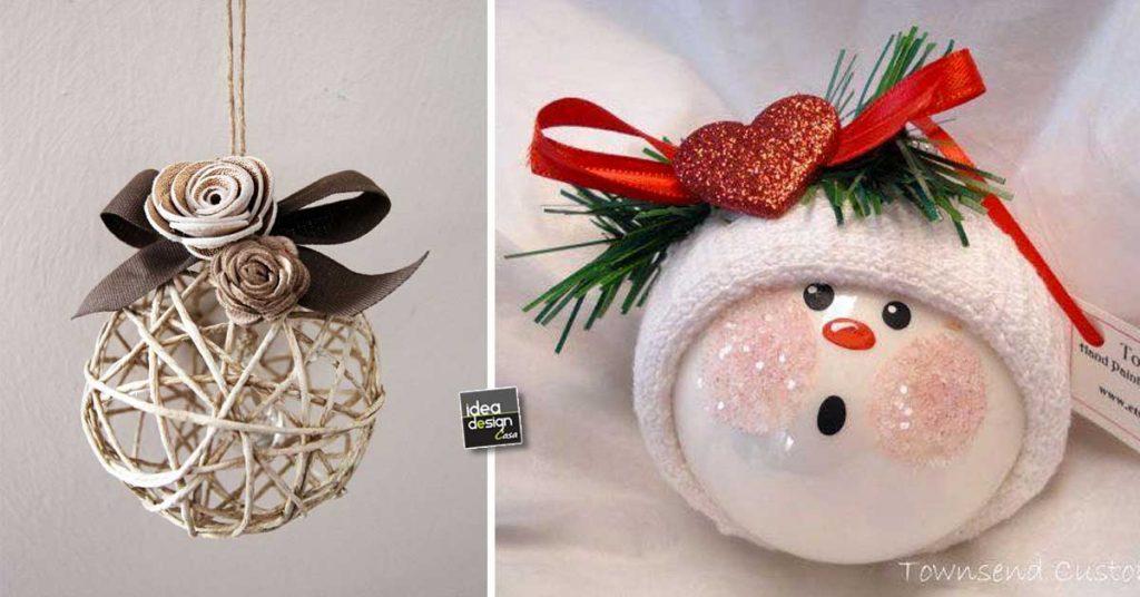 Immagini Palline Natalizie.Palline Di Natale Originali 20 Idee Per Decorare L Albero Di Natale Ideadesigncasa Org