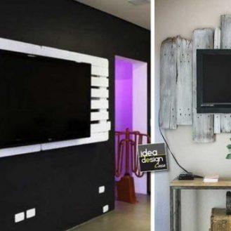 Tronco lampadina ecco 20 idee fantastiche da cui ispirarsi - Porta tv fai da te ...