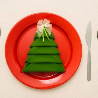 tavolo natalizio