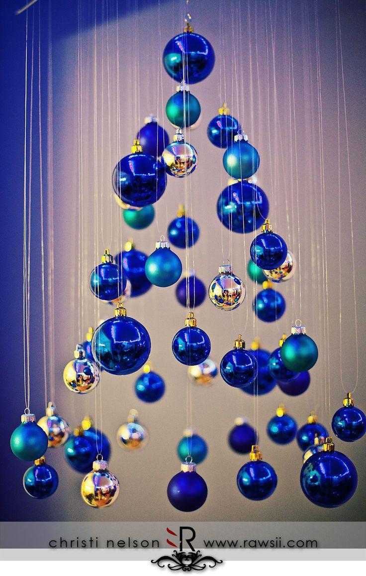 R aliser un sapin original avec des boules de noel voici - Originales arboles de navidad ...