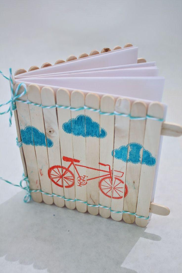 bastoncini del gelato riciclo creativo 17
