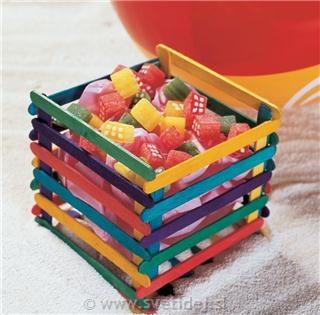 bastoncini del gelato riciclo creativo 2
