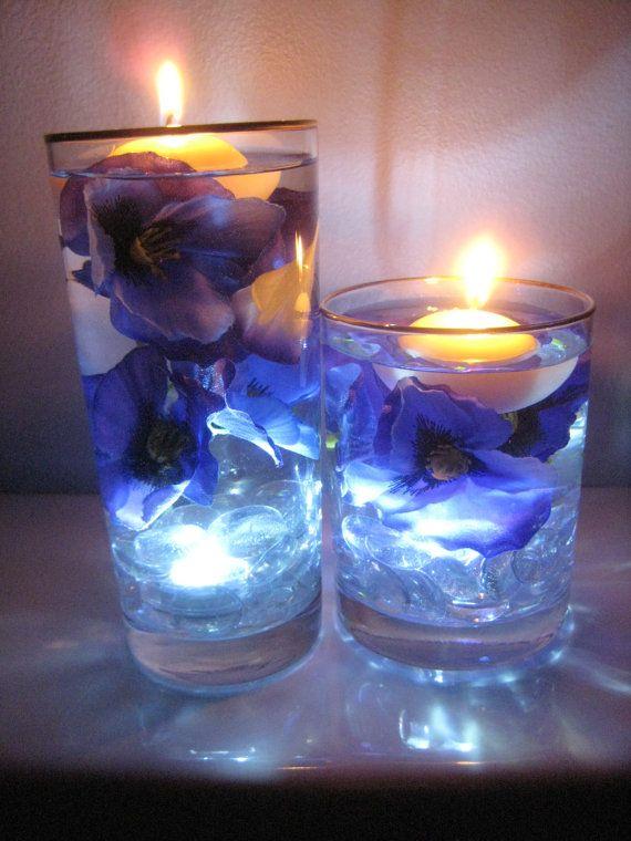 candele in acqua 14