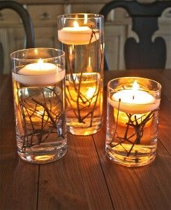 candele in acqua 8