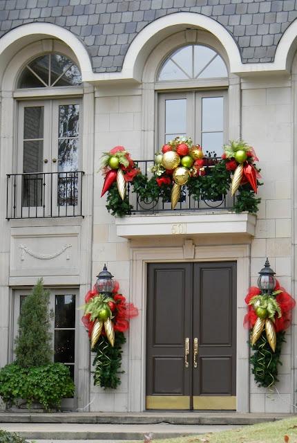 decorazione balcone natale 17