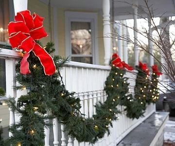 decorazione balcone natale 20
