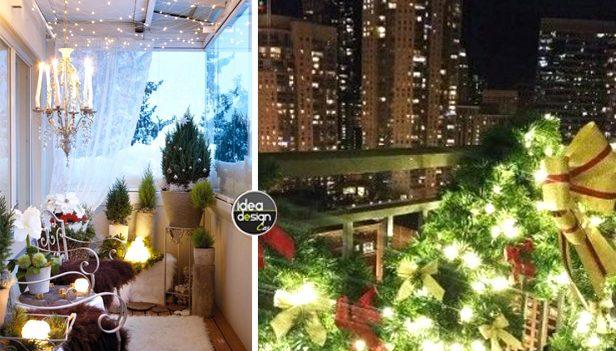 Decorare il balcone per natale 20 idee da cui ispirarsi - Decorare il terrazzo ...