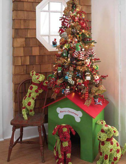 Decorare la cuccia per Natale