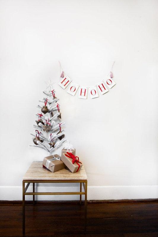 decorazioni minimal natale 23