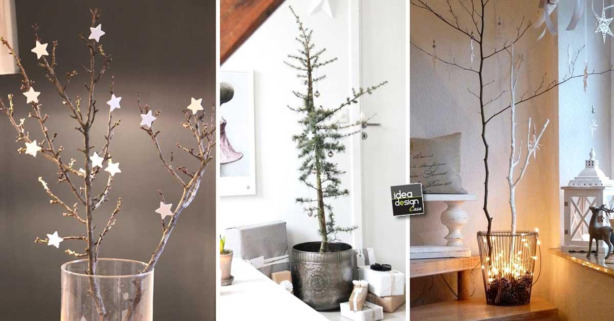 Decorazioni natalizie in stile minimal 31 idee da cui for Casa stile minimal
