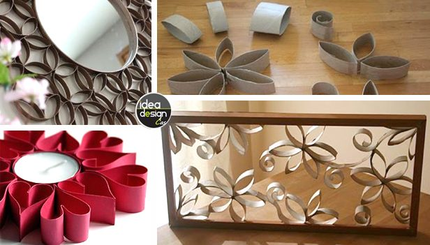 Rotoli Di Carta Igienica Riciclo : Riciclare rotoli di carta igienica per decorare casa a natale